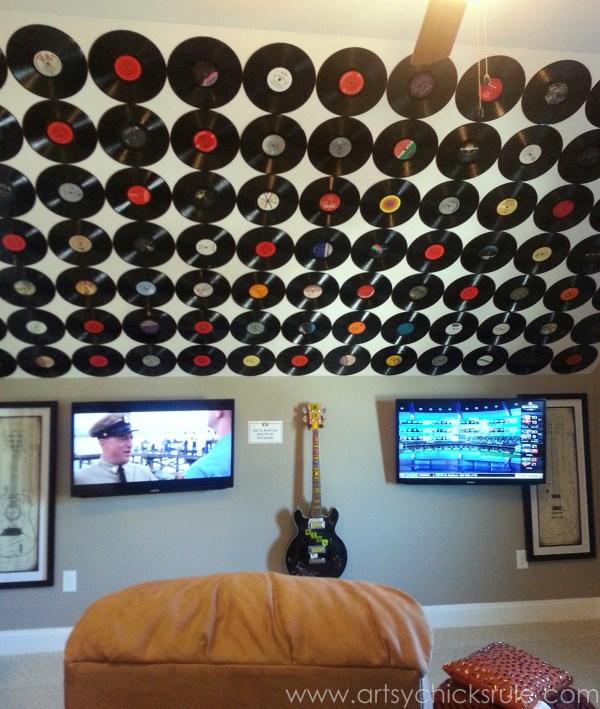 Featured Video Record Wall Art Bedroom Vinyl Old Recording Studio Decoration Music Room Ideas Retro Disc Plates