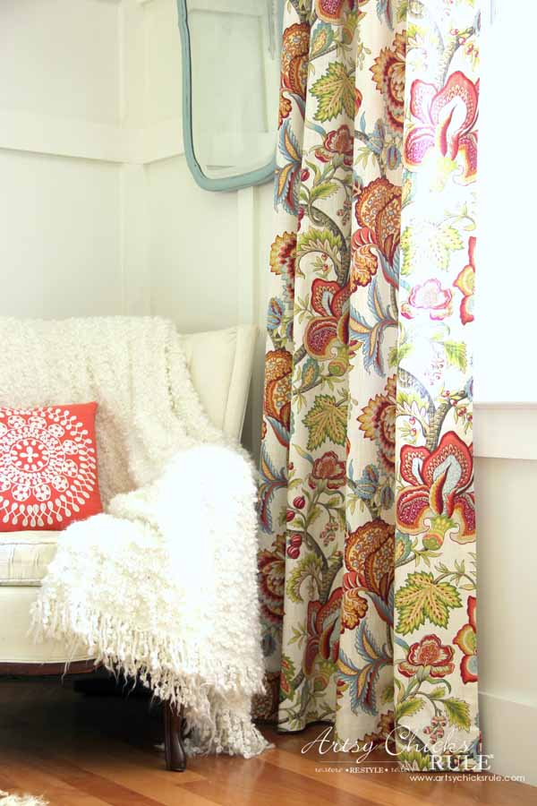 How To Make No Sew Curtains With Grommets Make Your Own Artsy Chicks Rule
