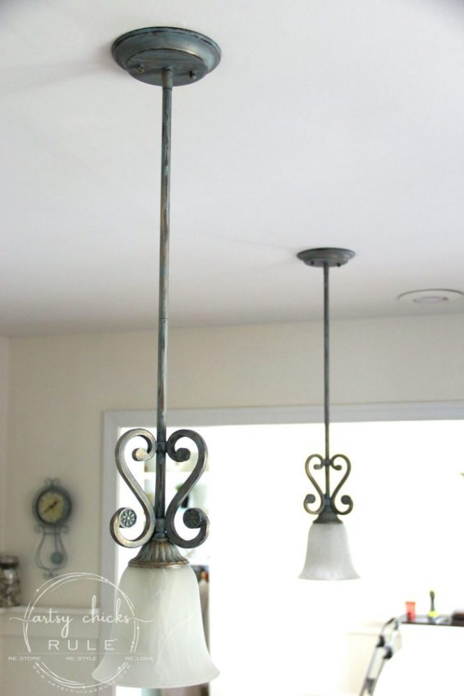 Painting Light Fixture Without Taking It Down