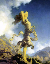 Maxfield Parrish's Ecstasy