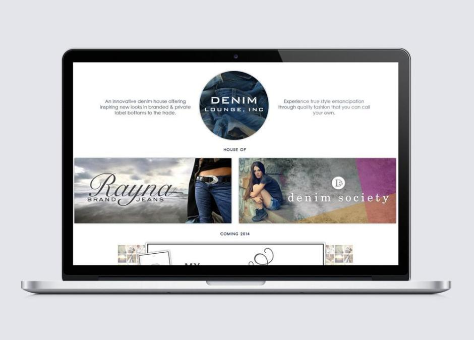 DenimLounge UI design