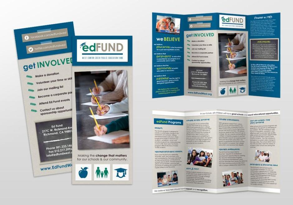 EdFund Brochure Design