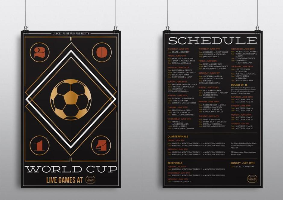 Uisce Worldcup Poster