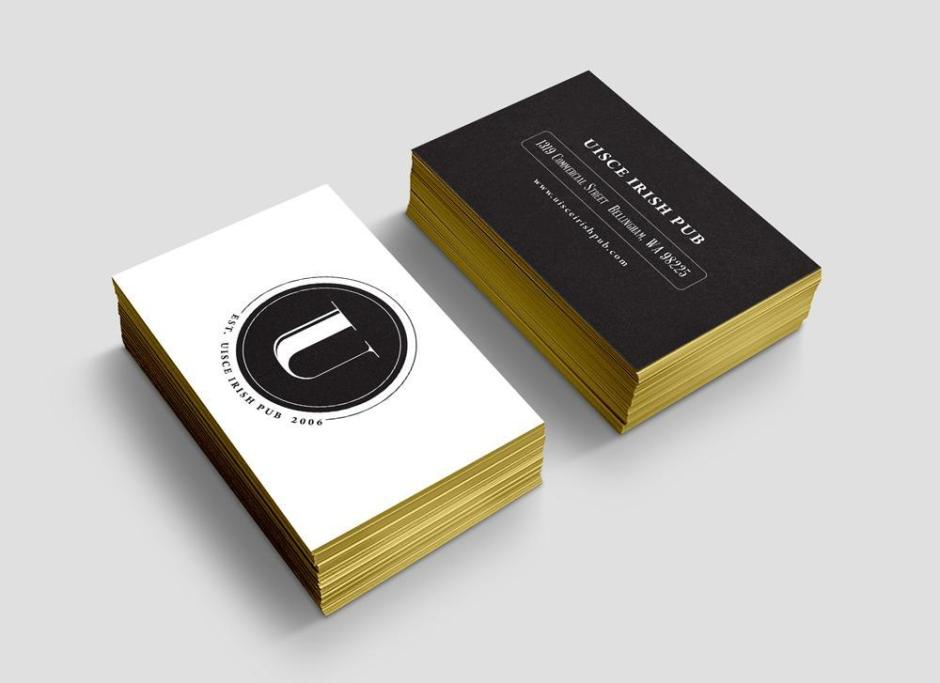 Uisce Business cards