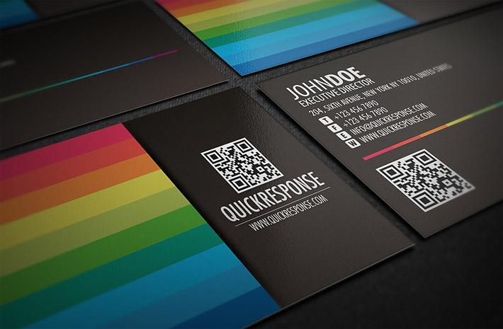 Business cards that break the mold artsy geek q r in for a treat with these gems just in case you need a quick refresher a quick response qr code is a two dimensional code that can be scanned and colourmoves