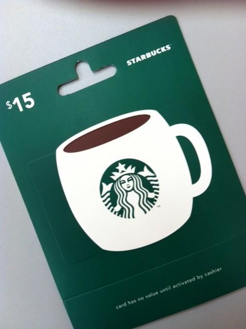 Starbucks gift card   Artsy Shark