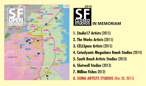 Closed Studios - in Memoriam