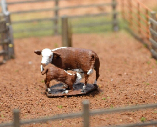 3D printed toy farm figures