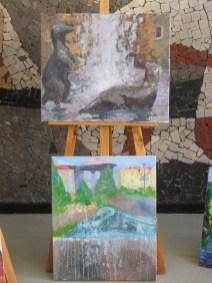 3. górna praca -Klaudia Lewkowicz,na dole praca Wiktorii Garleja