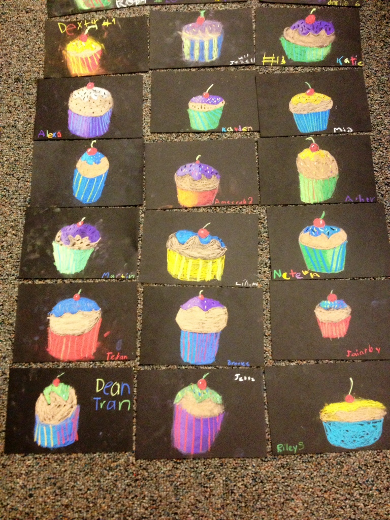 2nd Grade Cupcakes with Values