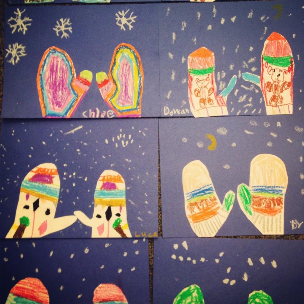 Winter Mittens Art Teacher In LA