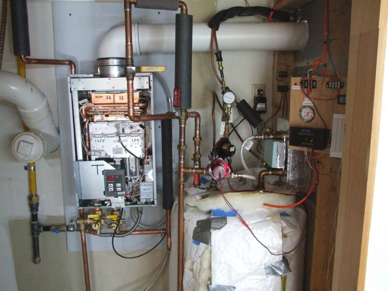 Sustainable Living Tankless Water Heater