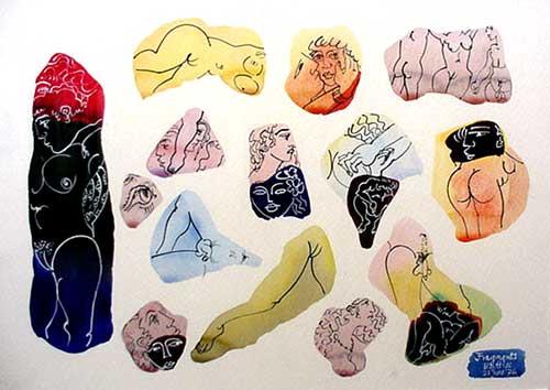 Walter Battiss Fragments