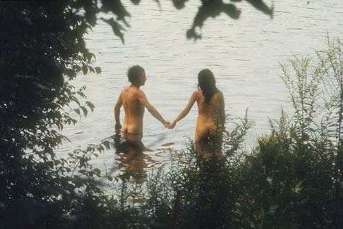 Woodstock skinny-dipping (1969)