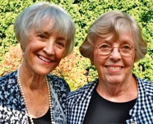 Lianne Spidel and Ann Loveland.