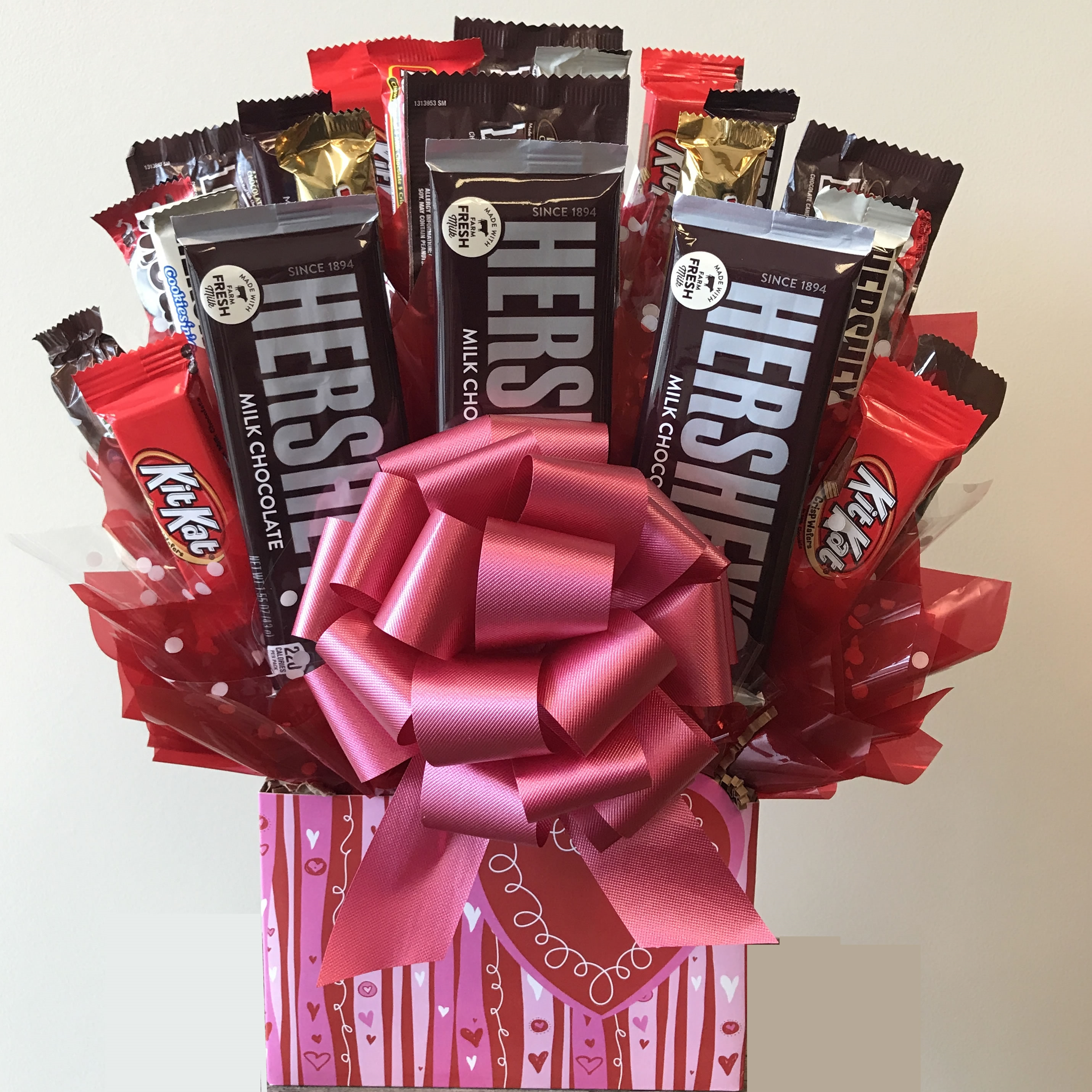 Sweetheart Candy Bouquet Candy Gift Baskets