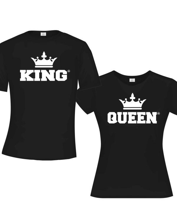 King & Queen Black