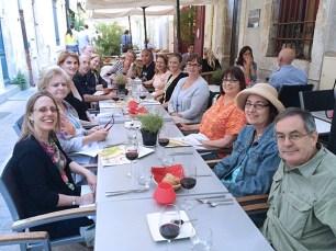Dinner in Arles