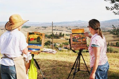 Painting Belvedere