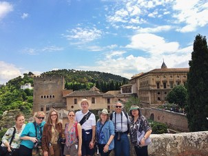 Touring the Alhambra