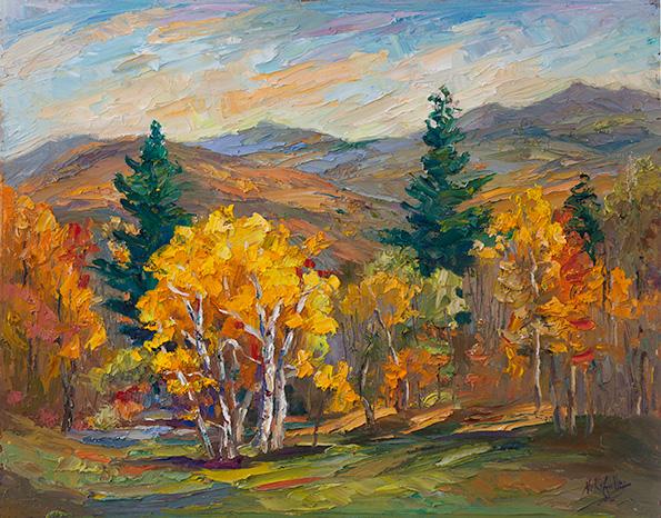 """""""Mountain Backdrop"""""""