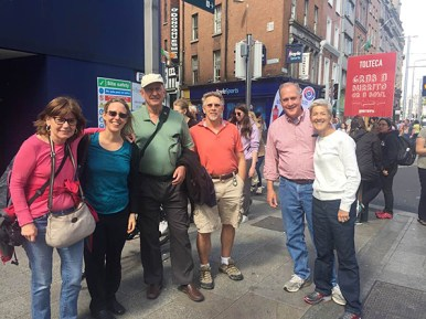 Touring Dublin