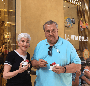 Sampling the Gelato
