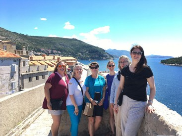 The women of Dubrovnik.