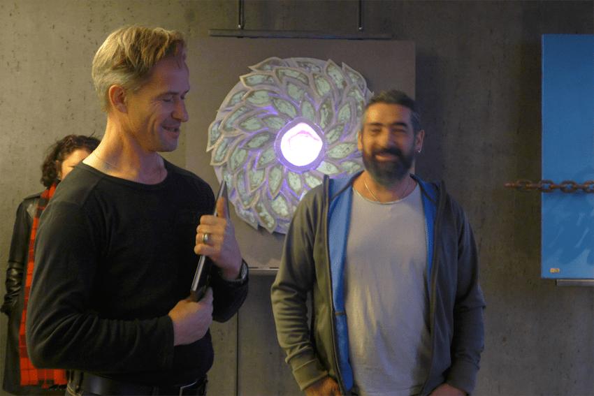 Doppelausstellung Daniel Schwarz und Claudio Cassano