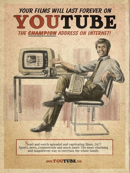 Vintage YouTube ads