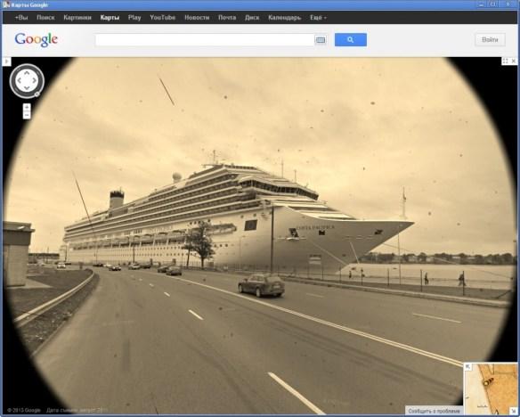 april fool google treasure maps view