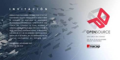 Invitación al Evento OpenSource