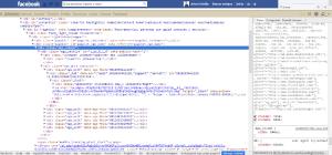 Adblock ocultando la barra Ego_Comlumn en Facebook