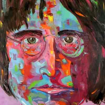 "Imagine. Oil painting 30""X24"""