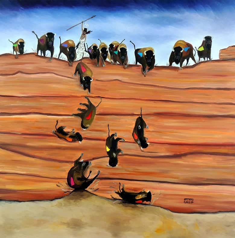 """""""Pishkun""""- Buffalo Jump"""