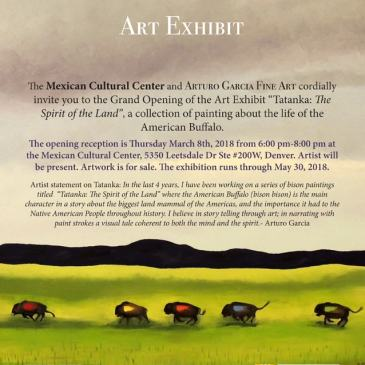 Tatanka: The Spirit of the Land Art Exhibit
