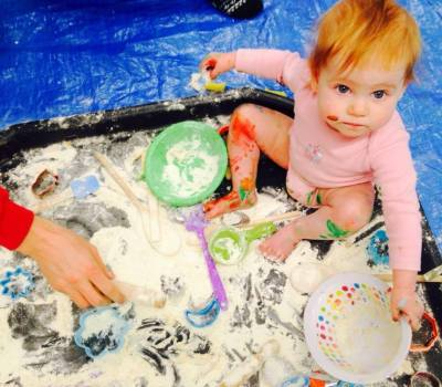 artventurers messy play classes