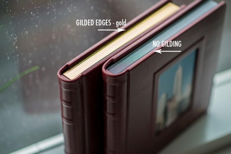 Artvesta Studio Photo Books - gilding