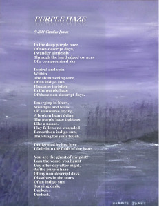 Purple Haze poetograph