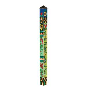 Love is Patient Garden Pole - 6 Feet