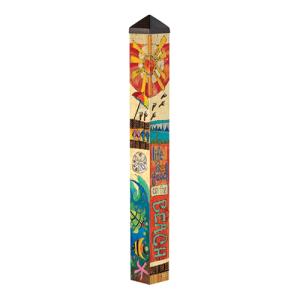 Peace, Love, and Sunshine Garden Pole - 3 Feet