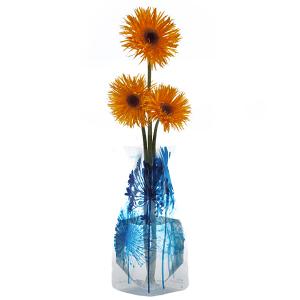 Boom Bloom Blue Collapsible Vase