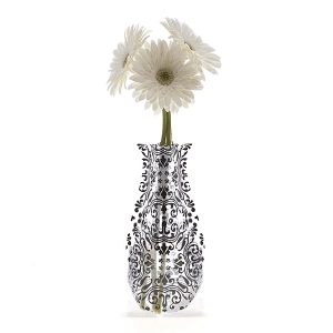 ChiChi Black Collapsible Vase