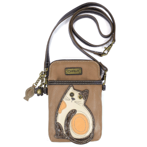 Cat Cell Phone Crossbody Bag