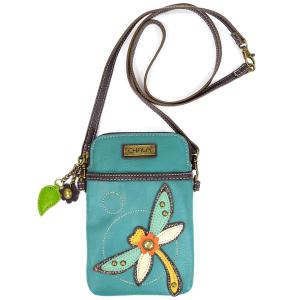 Dragonfly Cell Phone Crossbody Bag