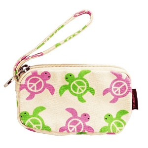 Sea Turtle Bungalow 360 Clutch Coin Purse