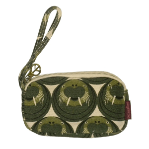 Walrus Bungalow 360 Clutch Coin Purse