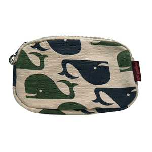 Whale Bungalow 360 Clutch Coin Purse