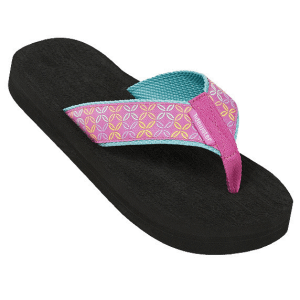 Fuchsia Buoy Flip Flops