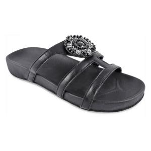 Lindsay Phillips Alba Black Sandals